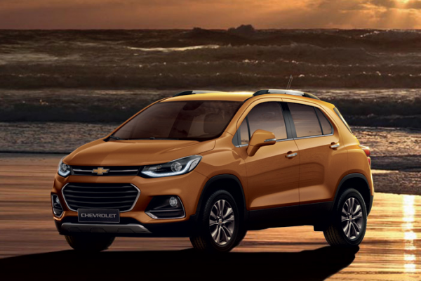 Chevrolet Trax Warna Burning Hot Metallic Di Bandung