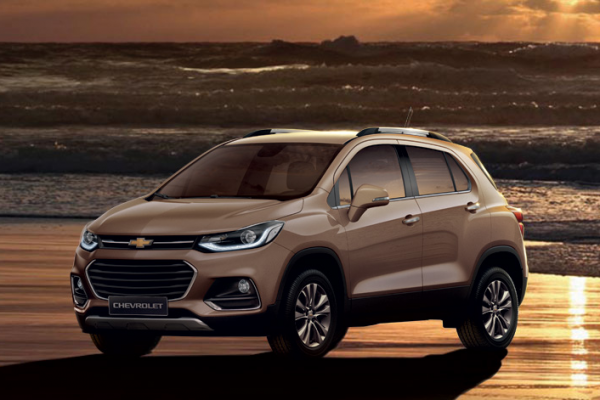 Chevrolet Trax Warna Coppertino Metallic Di Bandung