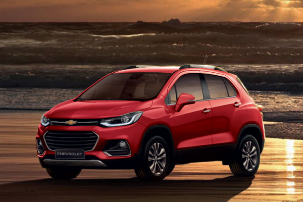 Chevrolet Trax Warna Pull Me Over Red Di Bandung
