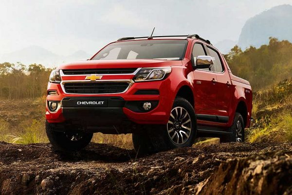 Chevrolet Colorado Warna Pull Me Over Red Di Bandung