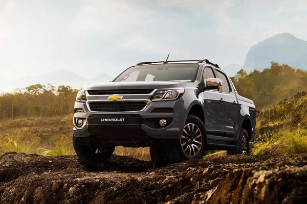 Chevrolet Colorado Warna Satin Steel Grey Metallic Di Bandung