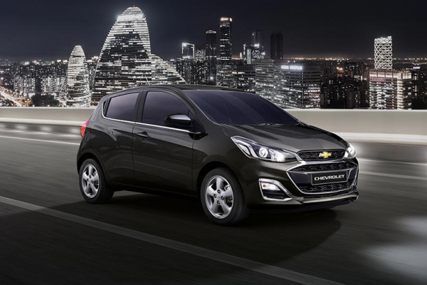 Chevrolet Spark Warna Black Meet Kettle Di Bandung