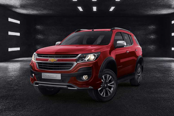 Chevrolet Trailblazer Warna Pull Me Red Over Solid