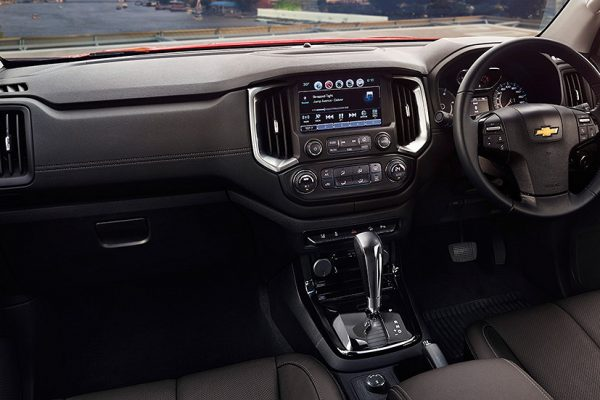 Interior Elegan Chevrolet Colorado